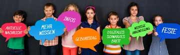 IT Lösungen für Schulen - Digitales schwarzes Brett