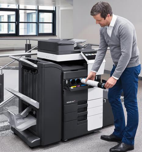 Wir kümmern uns um Ihrer Drucker und Kopierer
