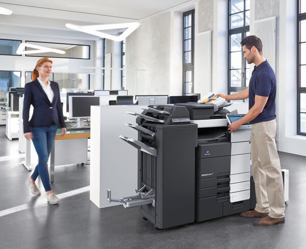 Perfekter Service für Drucklösungen und Kopierer
